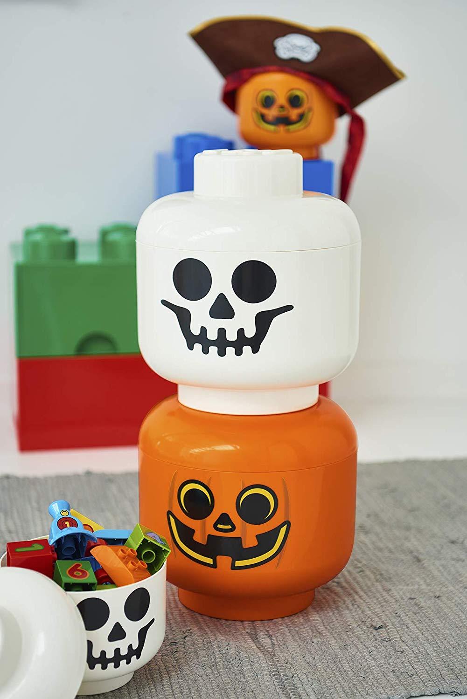 LEGO Halloween Storage heads