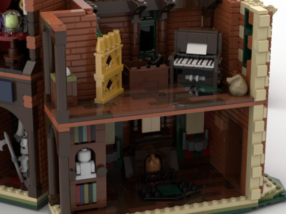 LEGO Ideas The Haunted Mansion