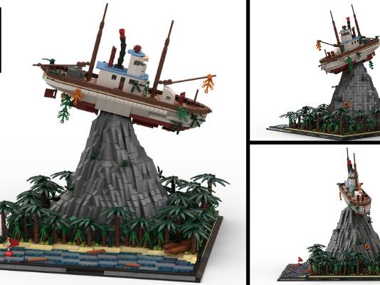 LEGO Ideas Typhoon Lagoon's Miss Tilly