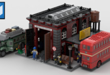 LEGO Ideas Vintage Bus Garage