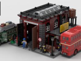 LEGO Ideas Vintage Bus Garage