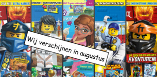 LEGO Magazines en boeken augustus 2019