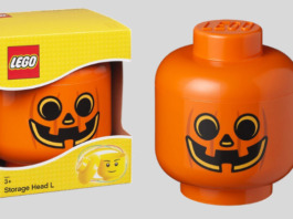 LEGO Storage Head Pumpkin