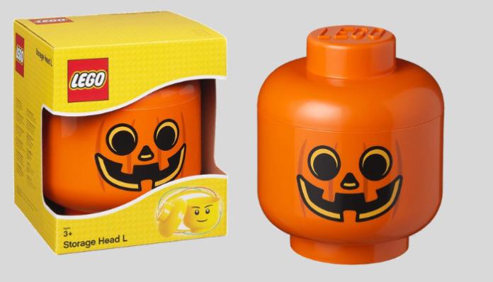 LEGO Storage Head Pumpkin