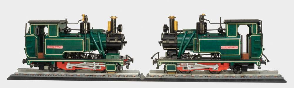 LEGO Twin Abt locos