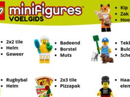 Minifigures Series 19 voelgids