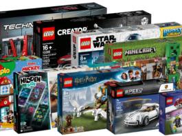 Nieuwe LEGO sets augustus 2019