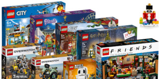 Nieuwe LEGO sets september 2019