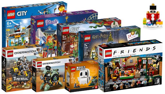 Nieuwe LEGO sets september 2019