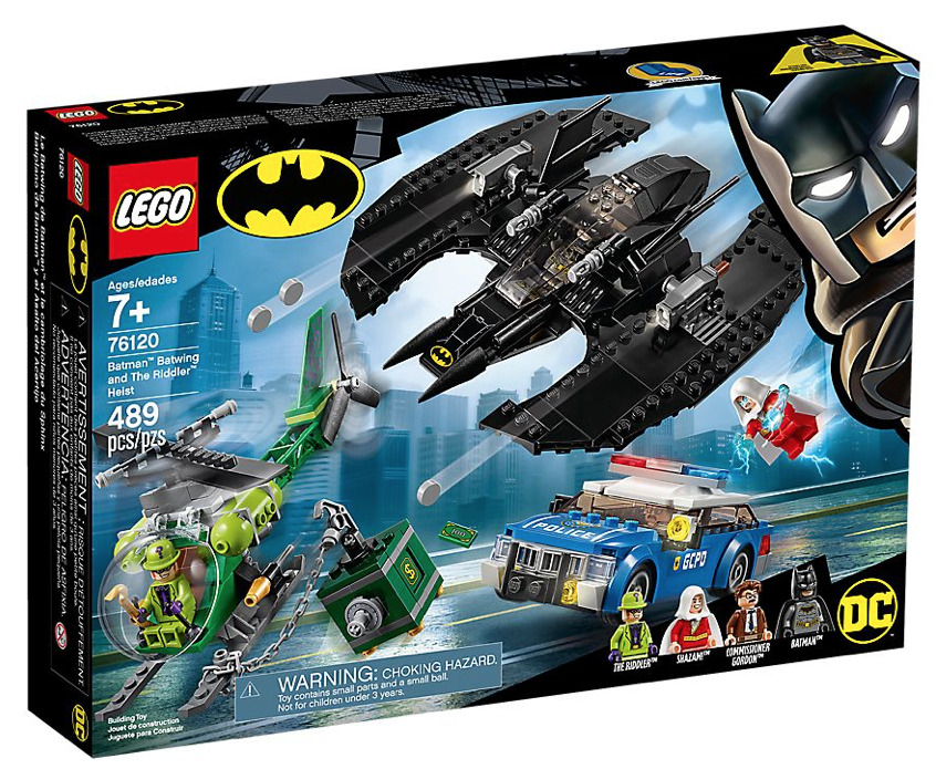 LEGO DC Super Heroes Batman Batwing and the Riddler Heist