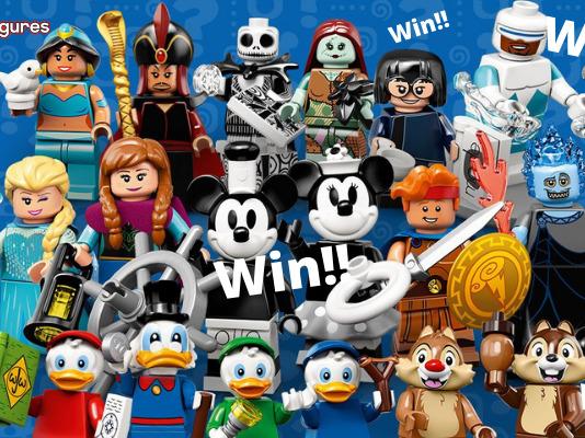 Win een setje Disney CMF series 2