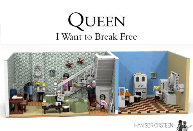 LEGO Ideas - Queen: I want to break free