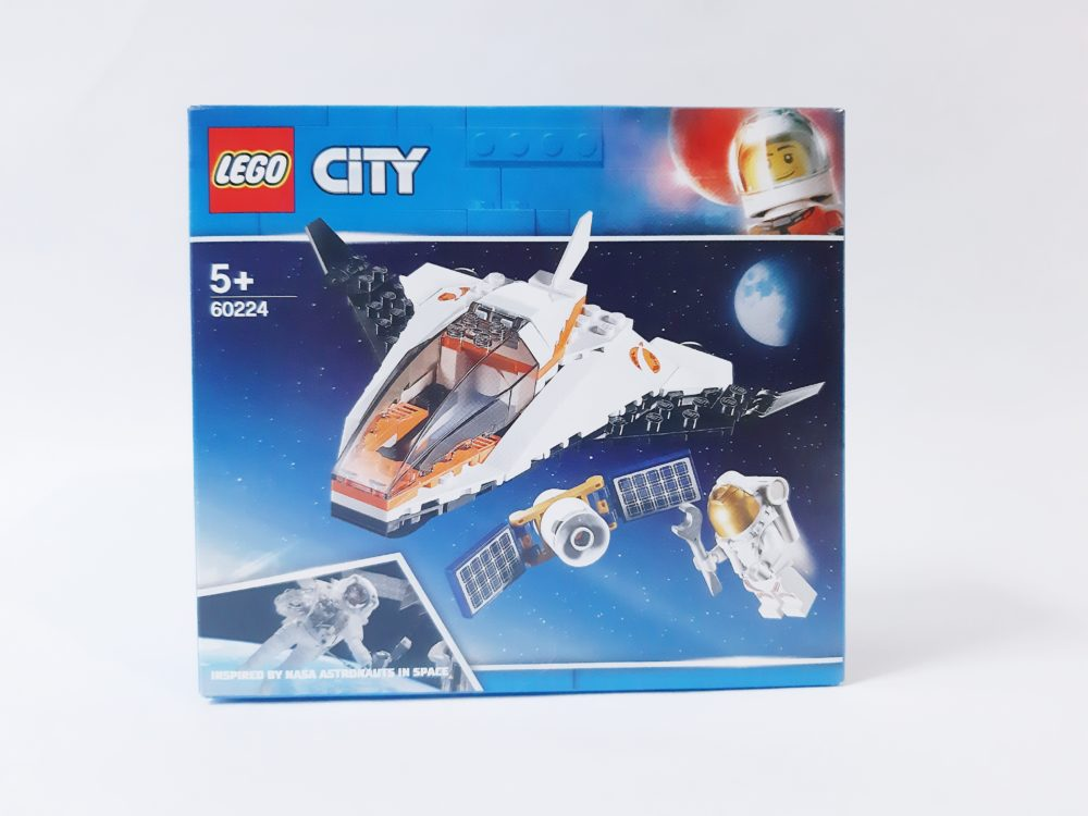 [Review] LEGO City 60224 Satelite Service Mission