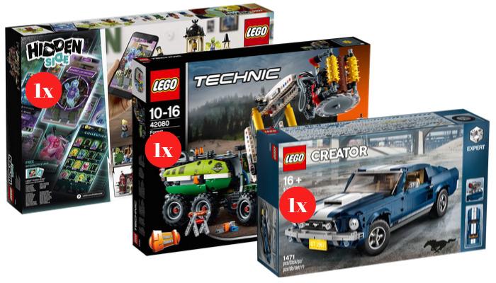 Win één van deze LEGO sets