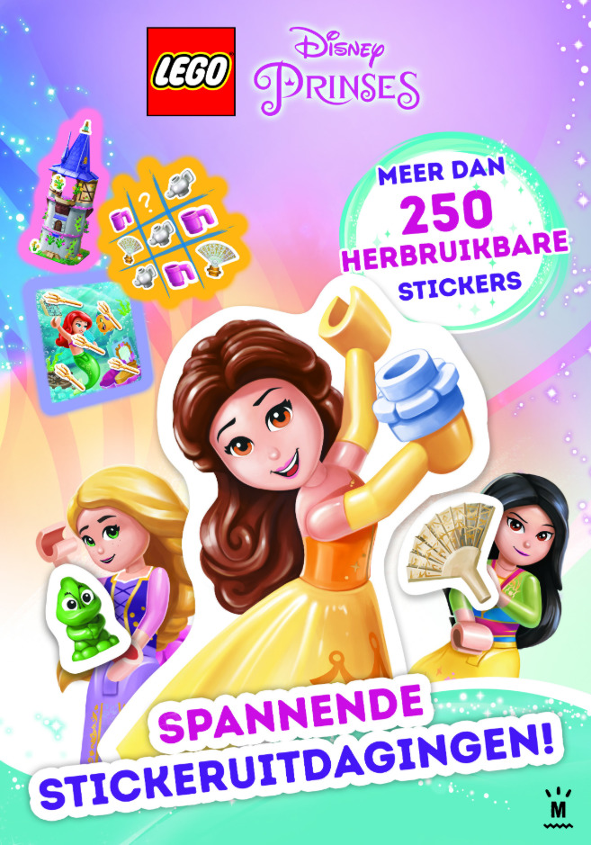 LEGO Disney Princess stickerboek