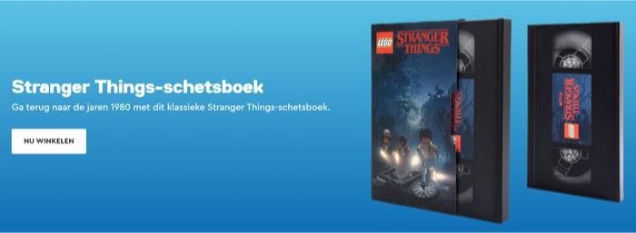 LEGO 5005933 Stranger Things Sketchbook