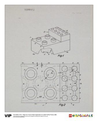 LEGO 5005998 Originals French Patent