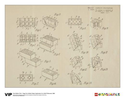 LEGO 5006004 Originals British Patent