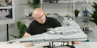 LEGO 75252 Imperial Star Destroyer Designer Video