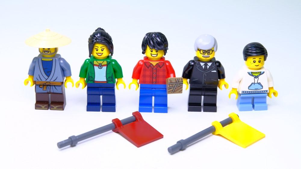 LEGO 80103 Minifigures