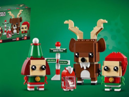 LEGO BrickHeadz 40353 Reindeer and Elves