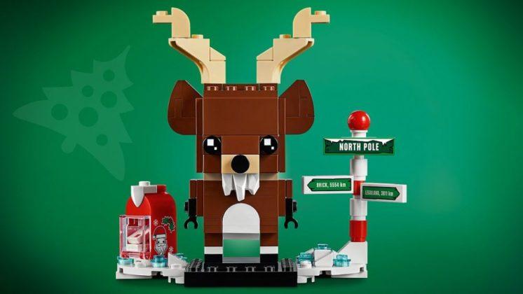LEGO BrickHeadz 40353 Reindeer and Elves