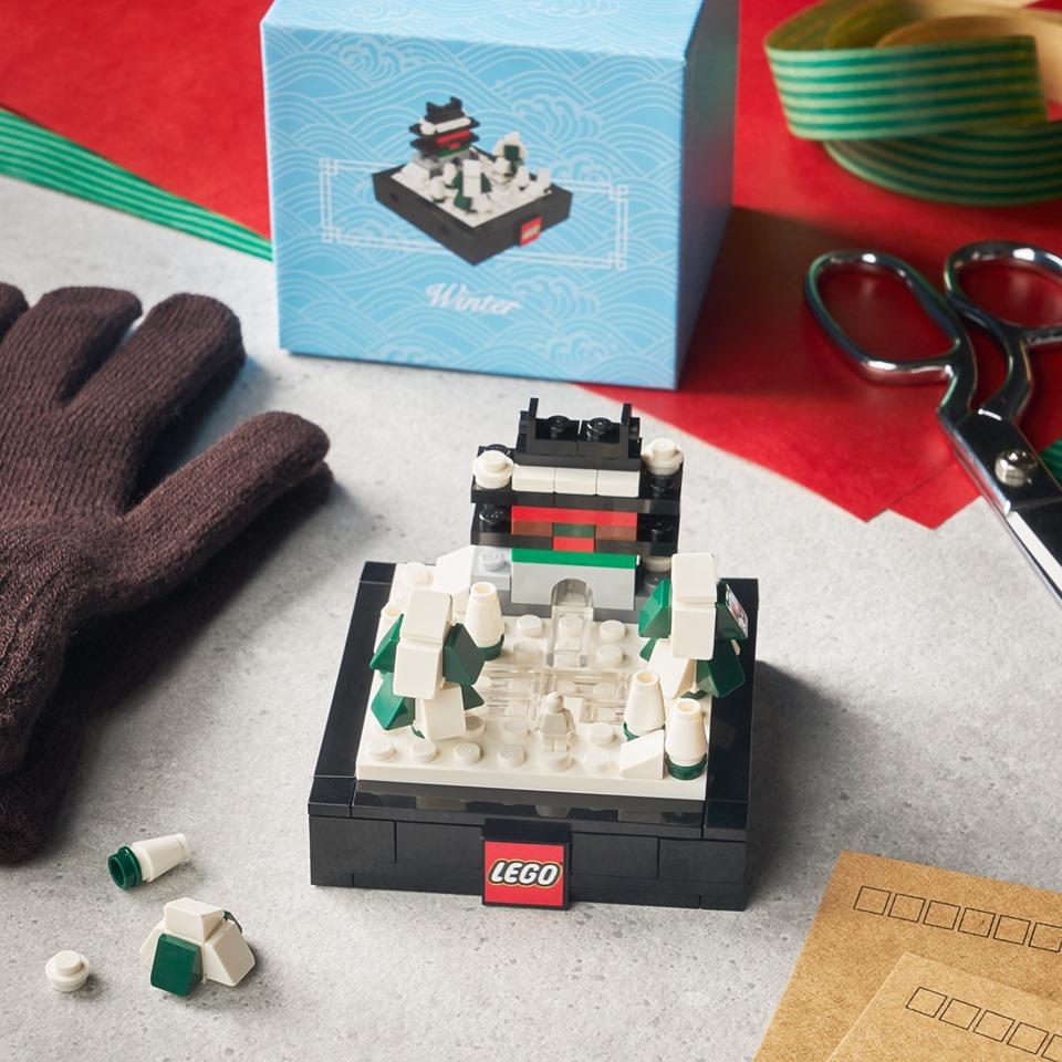 LEGO Bricktober 2019 sets Winter