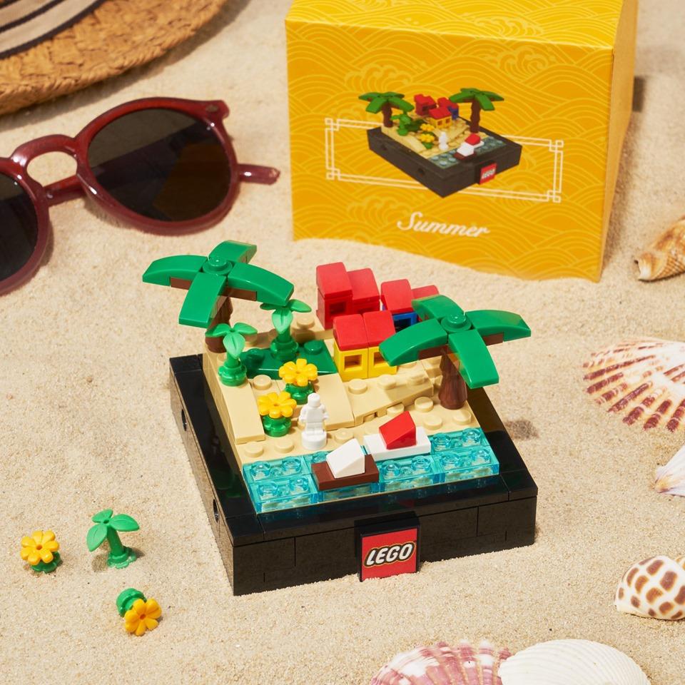 LEGO Bricktober 2019 sets Zomer