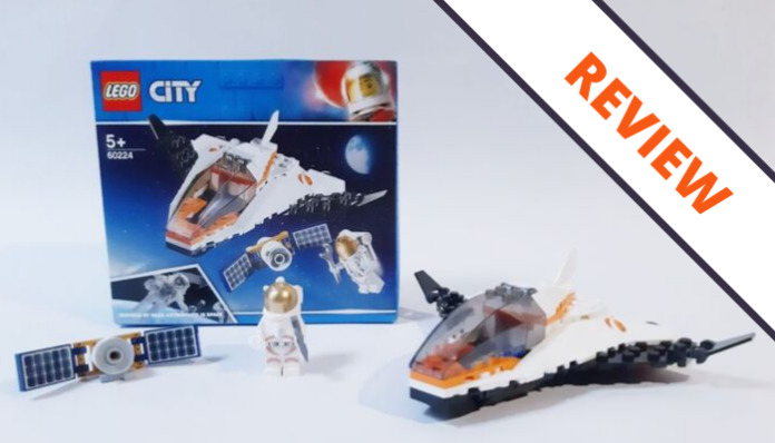 LEGO City 60224 Satelite Service Mission