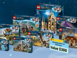 LEGO Harry Potter Holiday Scene