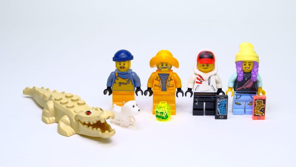 LEGO Hidden Side 70419 Wrecked Shrimp Boat