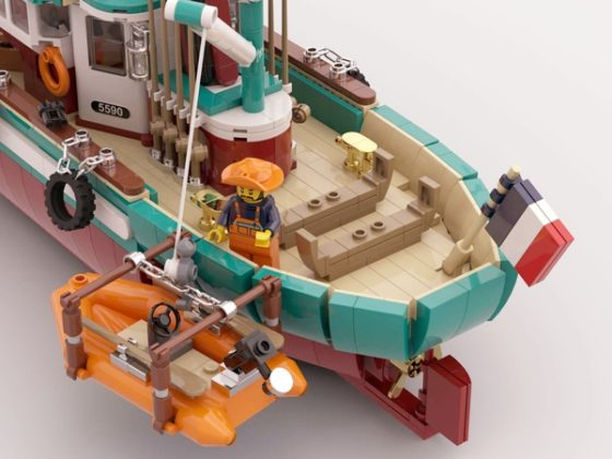 LEGO Ideas The Great Fishing Boat