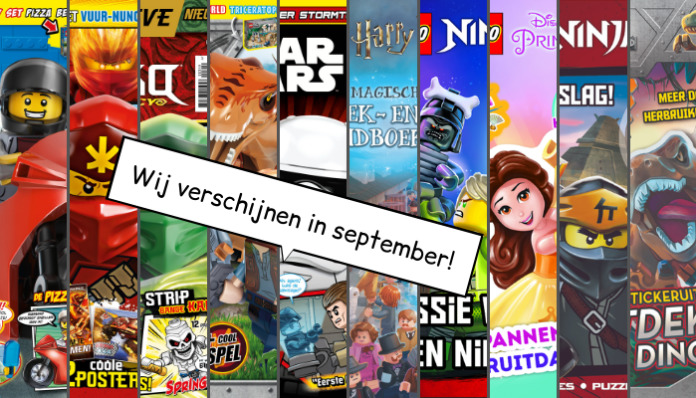 LEGO Magazines en boeken september 2019