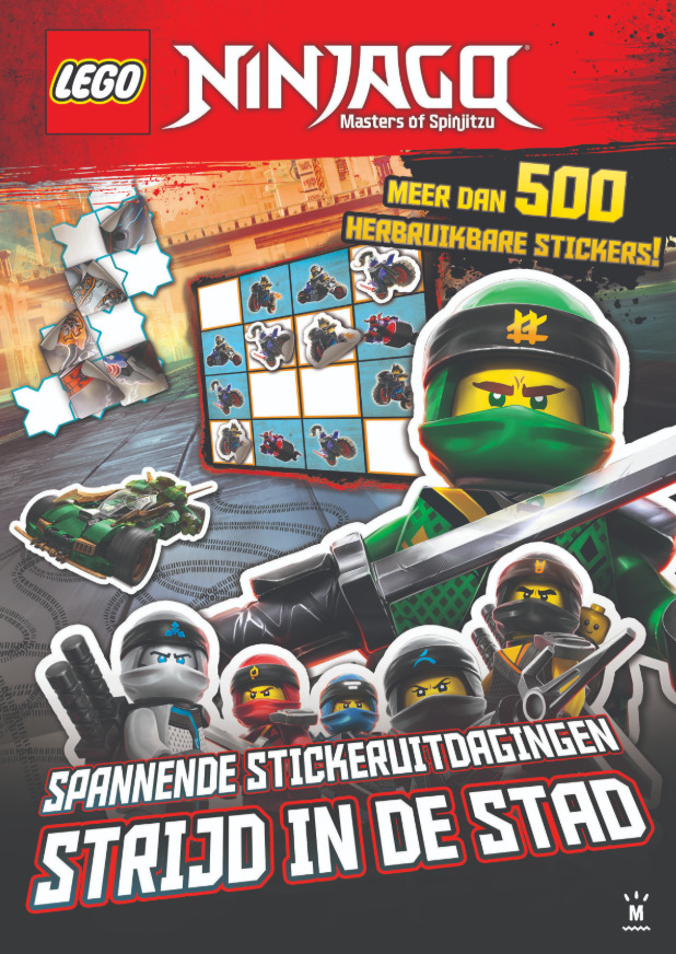 LEGO Ninjago Stickerboek