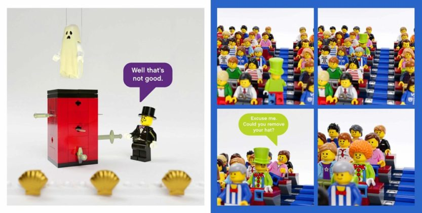 LEGO Small Parts The Secret Life of Minifigures
