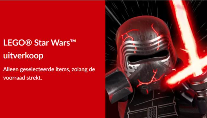 LEGO Star Wars uitverkoop