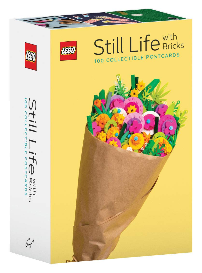 LEGO Still Life with Bricks 100 Collectible Postcards