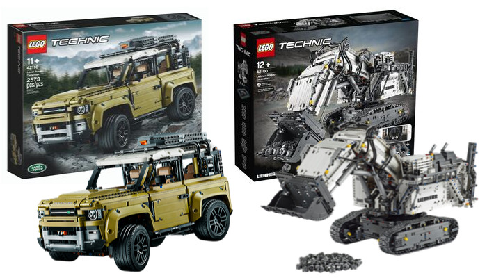 LEGO Technic sets oktober 2019