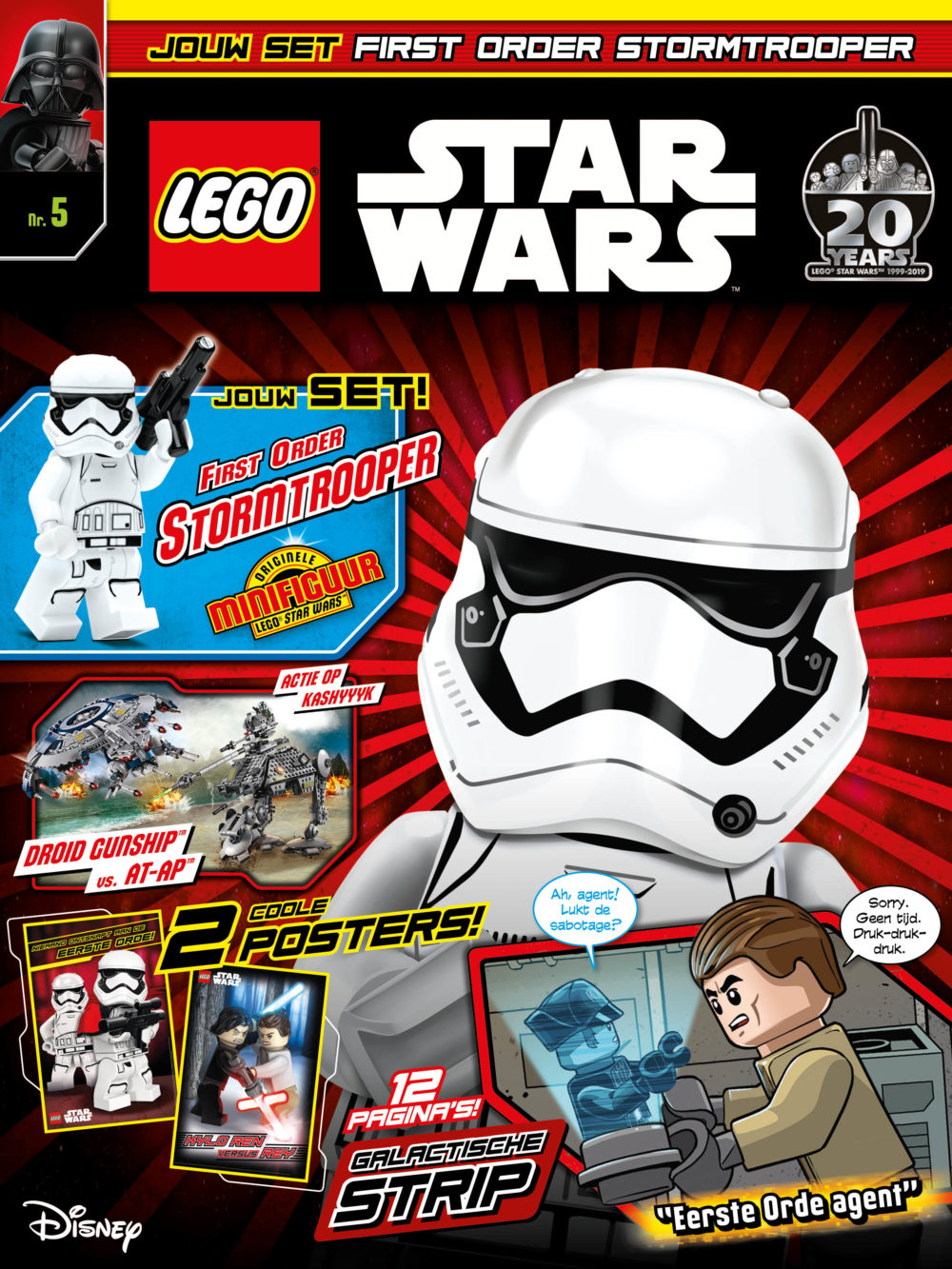 LEGO Star Wars Magazine nr. 5
