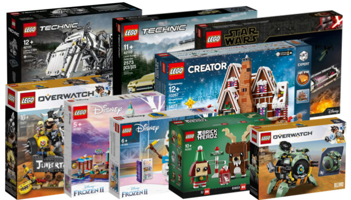 Nieuwe LEGO sets oktober 2019
