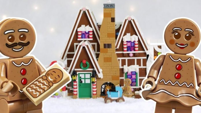LEGO Gingerbread House Designer Video