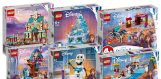 Visuals LEGO Disney Frozen 2