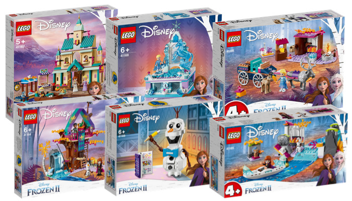 Visuals LEGO Disney Frozen 2