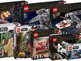 Visuals LEGO Star Wars oktober 2019 sets