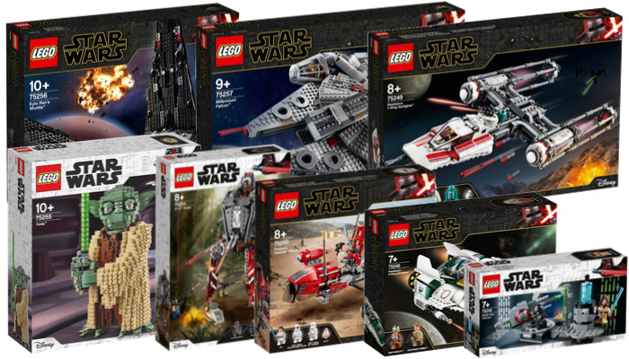 Visuals LEGO Star Wars oktober 2019 sets