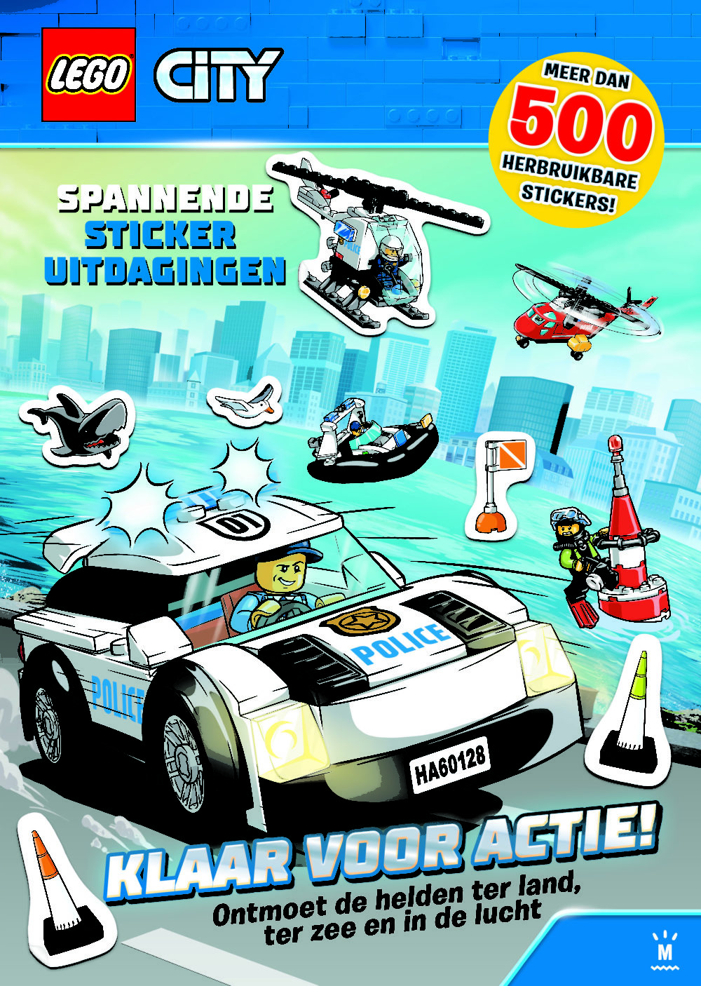 LEGO City stickerboek