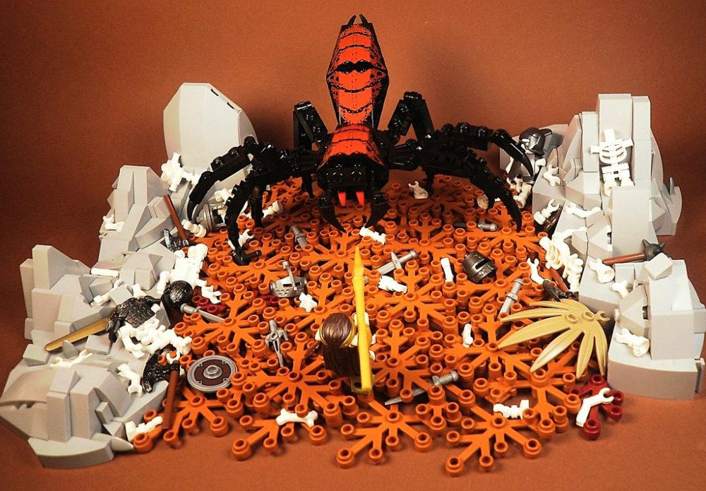 LEGO Arachne Lair MOC