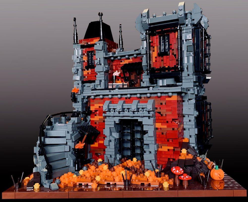 LEGO Burac Keep MOC