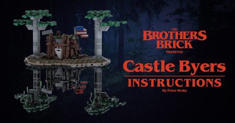 LEGO Castle Byers MOC