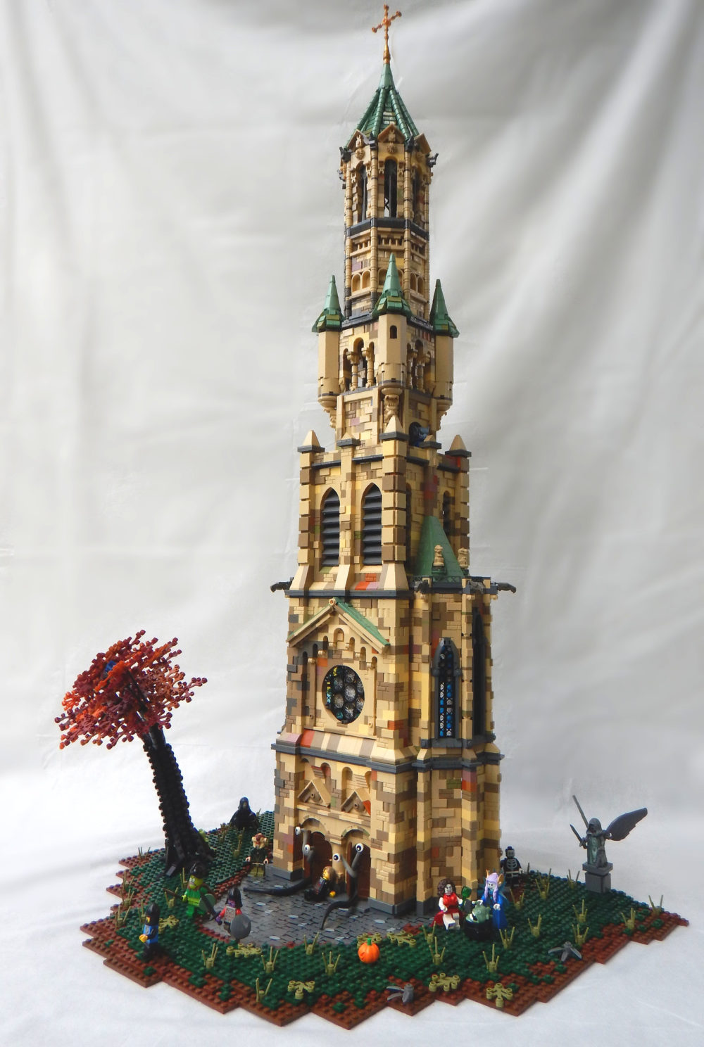 LEGO Church of the Wicked Witches MOC